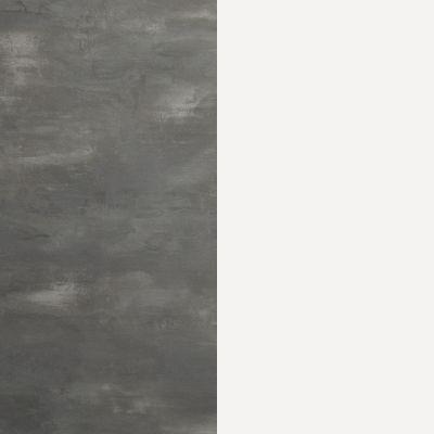 Pilkas betonas / Balta