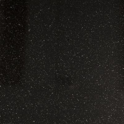 Чёрная с алуминовой стружкой глянцевая