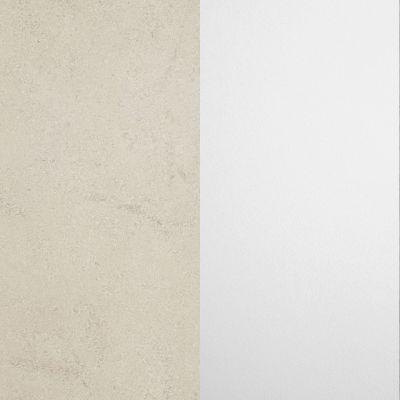 Šviesiai pilka smėlio / Baltas