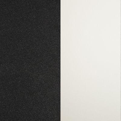 Juodas gruoblėtas su blizgučiais / Baltas