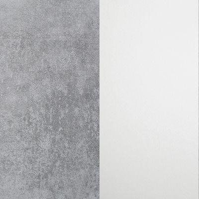 Pilkas betonas / Baltas