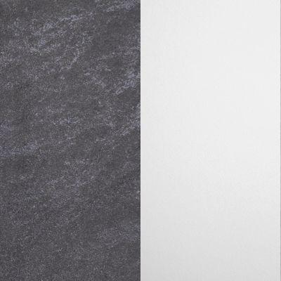 Tamsiai pilkas akmuo / Baltas