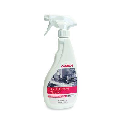 "Hard Surface Cleaner (gloss, mirror, ceramic, sintered stone surfaces) ""Unika"" 500 ml"