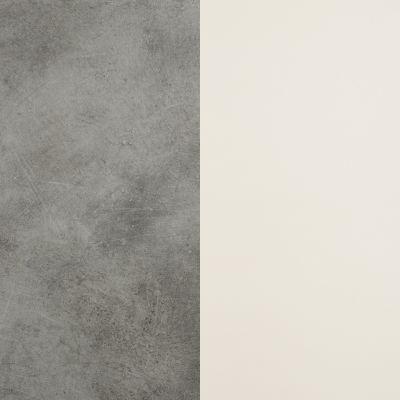 Pilkas šlifuotas betonas / Baltas
