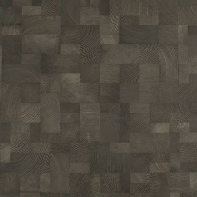 Dark brown wood (in squares)