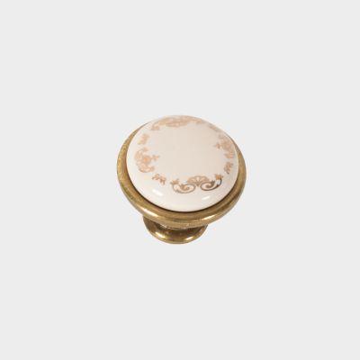 Rankenėlė gp19-g00ab-mlk-0, porcelianas+antikinis žalvaris s