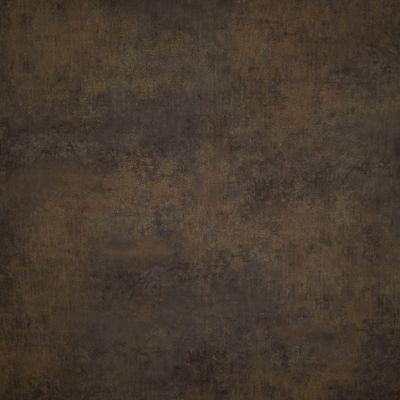 Surūdijęs rudas metalas (juodu užpildu)